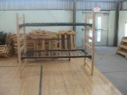 Lot of Used Dorm Furniture Heavy Duty Wooden Bunk Beds