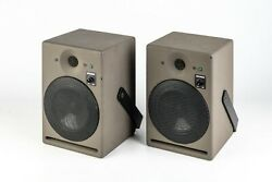 A Pair Of Legendary Studer A1 Active Close Field Monitors With Accessories