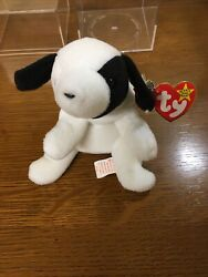 Rare Original Nine 1993 Spot The Dog With Errors Ty Beanie Baby Style 4000