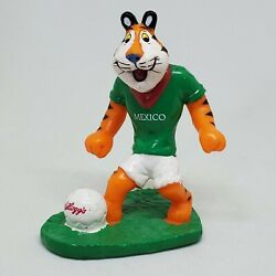 Kelloggs Tony The Tiger Mexico Soccer Player Pvc Figure Football World Cup