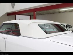 1967-1970 Cadillac Olds 98 Electra Convertible Top Glass Window And Pads, Gm White