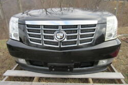 10 11 12 13 Cadillac Escalade Front Clip Nose Hood Grille Bumper Core Support