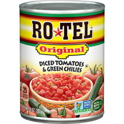 Rotel Tomatoes With Green Chilies 10 Oz Pack Of 24