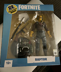 Mcfarlane Toys Fortnite Raptor Deluxe 7 Inch Action Figure Misb New