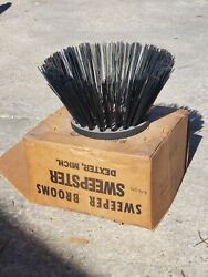 Sweepster Gutter Broom Metal Wire New Old Stock