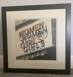 Limited Edition 76/101 1978 Pencil Print Women, Girls By Robert Cottingham