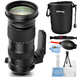 Sigma 60-600mm F/4.5-6.3 Dg Os Hsm Sports Lens For Canon Ef + Pouch Bundle