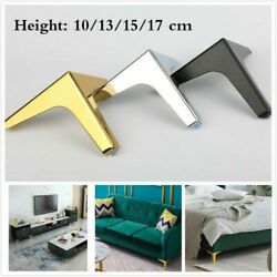 1pc Metal Triangle Furniture Legs Cabinet Cupboard Bed Couch Feet Replacement