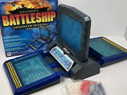 2000 Mb Advanced Mission Electronic Talking Battleship Board Game Sealed Read