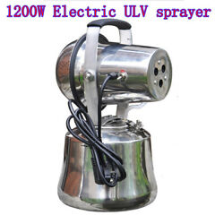 1200w Electric Ulv Sprayer Pest Control Mold Insect Fogger Micro Jet Fogge 110v