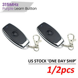 2pcs For Liftmaster Garage Door Remote Opener 370lm 371lm 372lm 373lm Us Stock