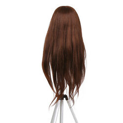 Cosmetology Mannequin Head 70 Real Hair Hairdressing Training Doll Usa