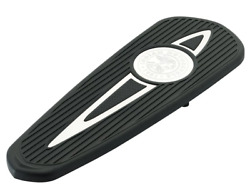 Indian Motorcycle Polished Headdress Rider Floorboard Pads For 2014-2020 Chief