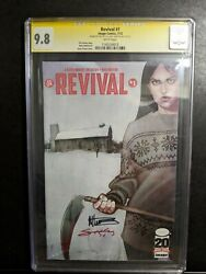 Revival 1 Jenny Frison Signed By Tim Seeley Mike Norton Image Horror Ss Cgc 9.8