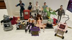 Vintage 80's Pee Wee Playhouse Toys Lot Of 18, 7 Are Dolls, Globey,pterri,conky