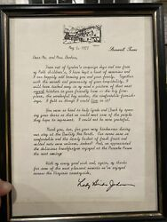 """Lady Bird Johnson - Hand Typed Letter Hand Signed 05/5/1977 Unique Content 8x10"""""""