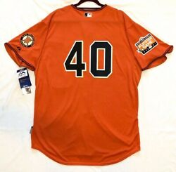 Majestic Authentic 52 2xl San Francisco Giants Madison Bumgarner Coolbase Jersey