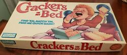 Vintage Parker Brothers Crackers In My Bed Board Game Complete 1987 Memory Nice