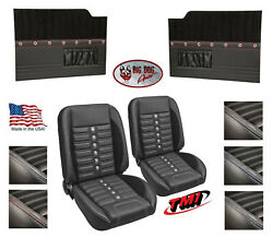 Sport Xr Pro Classic Seats And Flat Door Panels W/ Pockets For 1953-55 Ford Truck