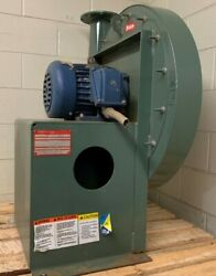 New York Blower Pressure Blower W. 5hp Explosion Proof Motor And Butterfly Valve