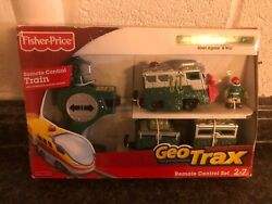 Geotrax Train And Remote Adventurous Team Alpine And Will New Sealed Christmas