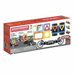 Magformers Magnetic Intelligent Building Set Of 41 Pieces With Wheels