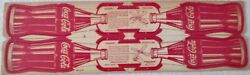 Coca Cola Booma-plane Boomerang Die-cut Unpunched Circa Wwii Mid 1940's Mint