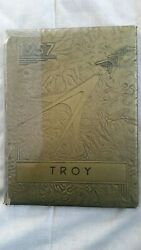 1957 North Webster Indiana Troy School Yearbook
