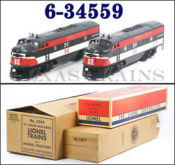 Lionel 6-34559 New Haven Nh F-3 A-a 2342 Diesel Set Conventional 2010 C8