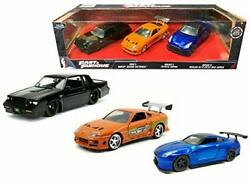 Jada Toys Fast And Furious 3 Pack 132 Die Cast Cars
