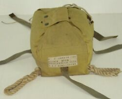 Japanese Wwii Cargo Parachute Pack Bag Military Issue Paratrooper Original