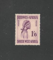 South West Africa 257 A55 Sg 162 Vf Mint - 1954 1sh6p Ukuanjama Woman