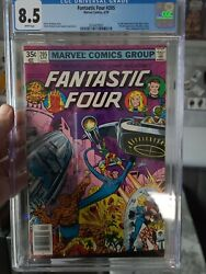 Fantastic Four 205..cgc 8.5..first Full Appearance Of The Nova Corps