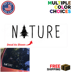 Nature Decal Forest Nature Orchard Decals Mother Nature Decal Tree Decals