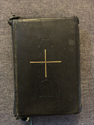 Rare Antique Leather Bound Holy Bible Late 1800's Mary Knoll Missal