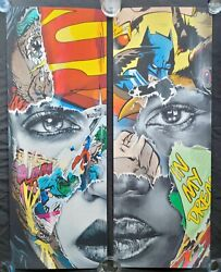 Sandra Chevrier La Cage Nous Sommes Uns We Are One Diptych 60/195 In Hand