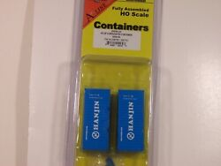 Intermountainhanjin 20' Corrugated Container 2 Pack Ho Scale. Nib