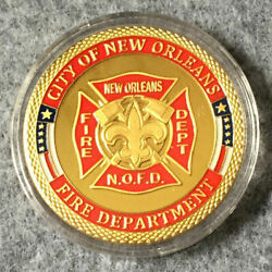 New Orleans Fire Department Challenge Coin