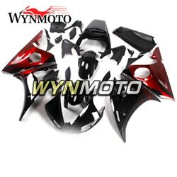 Red Black Farings For Yamaha Yzf-600 R6 R6s And03906-09 2003 2004 R6 03 04 Body Frame