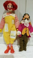 remco Mcdonalds Ronald And Captain Crook 1976