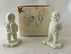 Is That For Me Snowbabies Dept. 56 Pewter Miniatures 7631-7 - Nib