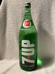 Full 32oz Seven-up Acl Screw-top Soda Bottle 7up