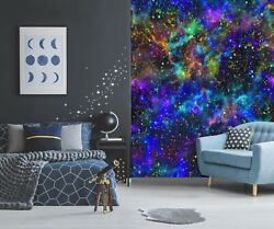 3d Color Starry Sky G2022 Wallpaper Mural Self-adhesive Removable Sticker Honey