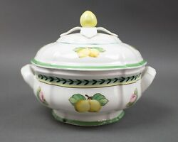 Villeroy And Boch French Garden Fleurence Covered Serving Bowl Soup Tureen W/ Lid