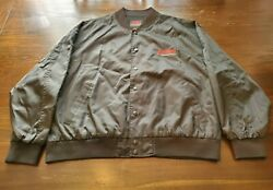 Vintage Highlander Movie Promo Jacket Mens Sz Xxl Black There Can Only Be One