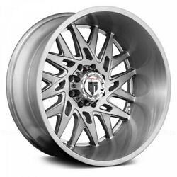 22 American Truxx Dna Brushed Texture Wheels Qty 4