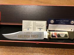 Donald Trump Bowie Knife Gold Coin American Mint Collector Presidential Roles