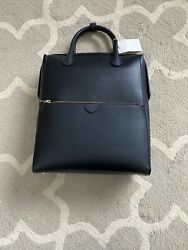 A New Day Womens Designer Backpack Black Bag With Zipper On Side And Top NWT $27.95