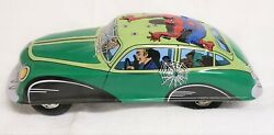 2006 Schylling Classic Tin Car The Amazing Spider Manfriction Brand New