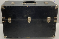 Rare Knickerbocker Case Co. Chicago Ill. Leather Fishing Tackle Kit
